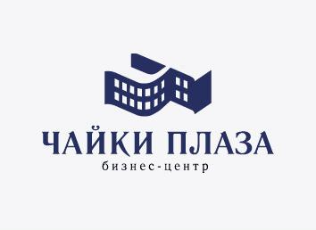 дизайн логотипа чайки плаза